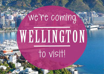 Coming to Wellington