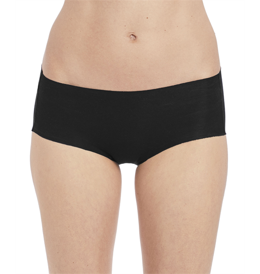 Beyond Naked Cotton Hipster (Black) by Wacoal