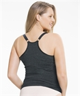Sugar Candy Non-wired Singlet (Charcoal) by Cake