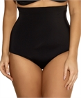 High Waist Bikini Brief (Black) by Elomi