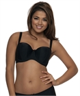 Luxe Strapless (Black) by Curvy Kate
